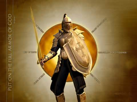 Soldier in army of God