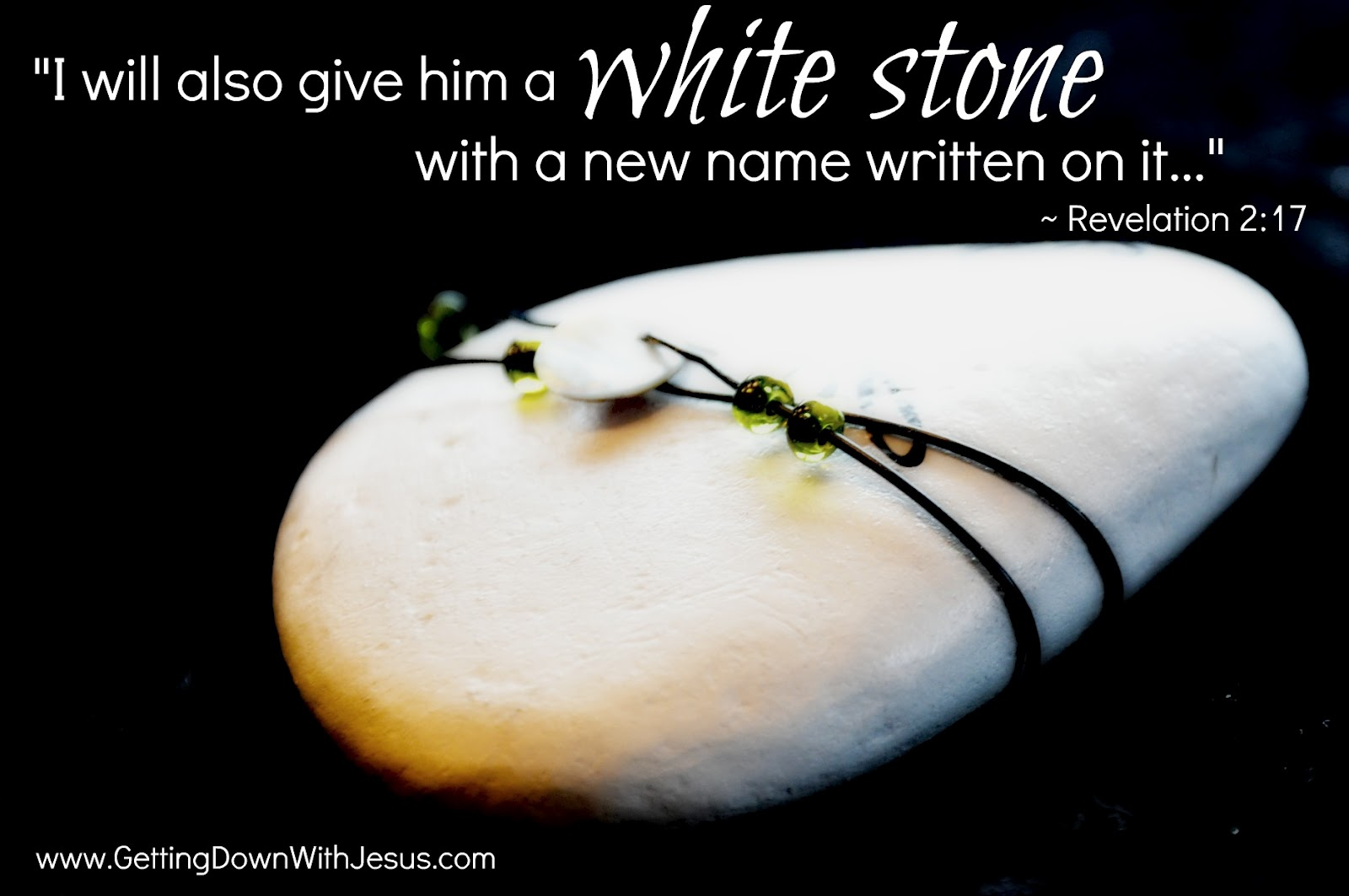 new name and white stone